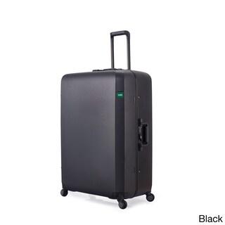 Lojel Rando Frame 30-inch Large Hardside Upright Spinner Suitcase (Option: Black)