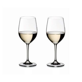 Riedel Vinum Clear Crystal Viognier/Chardonnay Wine Glasses (Set of 2)