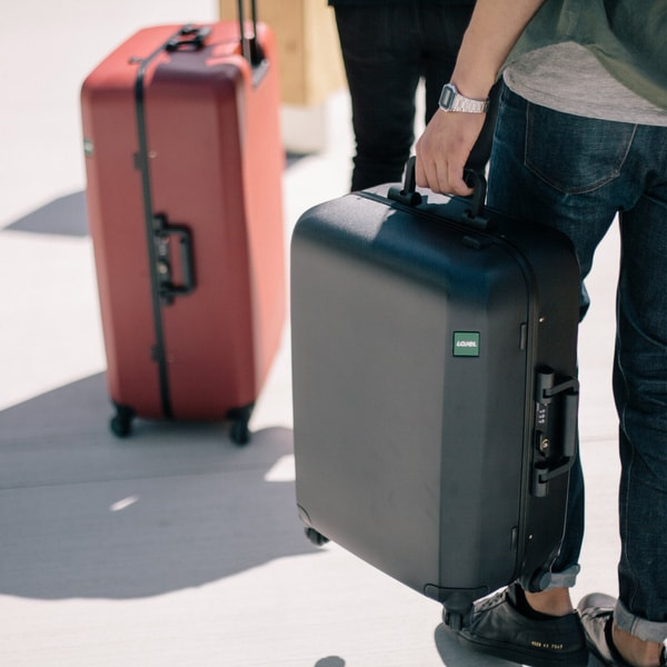 Lojel Rando Frame 26-inch Medium Hardside Upright Spinner Suitcase