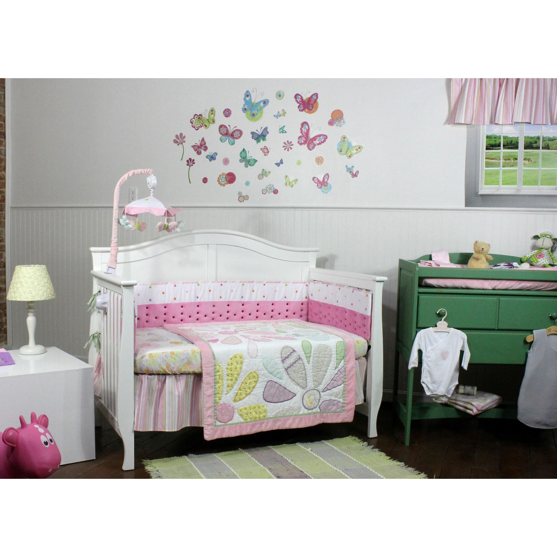 Nurture Crazy Daisy 4 Piece Nursery Bedding Collection