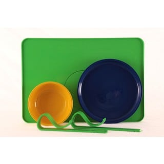 Kranky Pantz Toddler Lock-it-Down Diner, Green