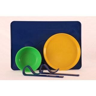 Kranky Pantz Toddler Lock-it-Down Diner, Blue