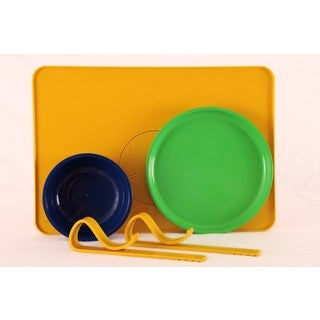Kranky Pantz Toddler Lock-it-Down Diner, Yellow