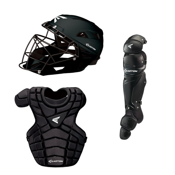 M10 Adult Catcher's Set Black