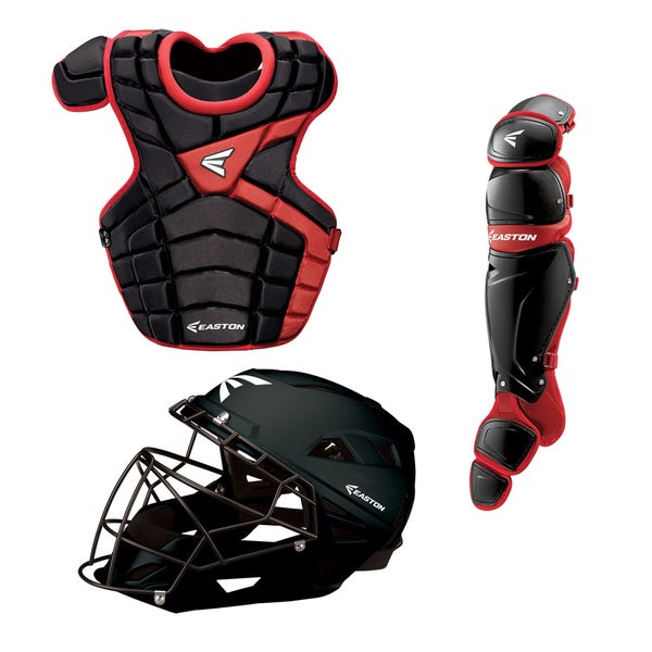 M10 Adult Catcher Set Black Red