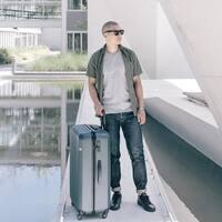 Lojel Rando Expandable 30-inch Large Hardside Upright Spinner Suitcase