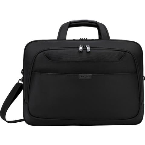 """Targus BlackTop Deluxe TBT275 Carrying Case (Briefcase) for 17"""" Notebook - Black"""