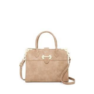Pink Haley Cerys Satchel Handbag