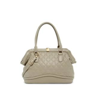 Pink Haley Bronwen Quilted Satchel Handbag|https://ak1.ostkcdn.com/images/products/12927854/P19681134.jpg?impolicy=medium
