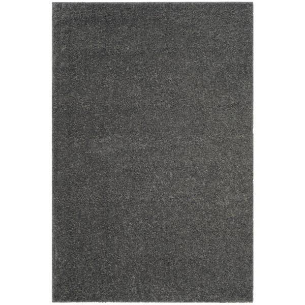 Safavieh Arizona Shag Southwestern Dark Grey Rug - 4' x 6'