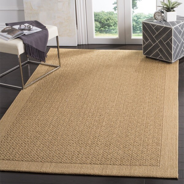 Safavieh palm beach natural fiber maize rug 3 39 x 5 39 free shipping today Home goods palm beach gardens