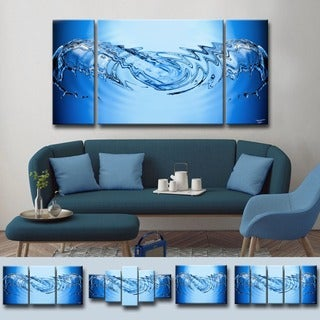 Ready2HangArt 'Aqueous Trance XXXI' by Tristan Scott Canvas Art
