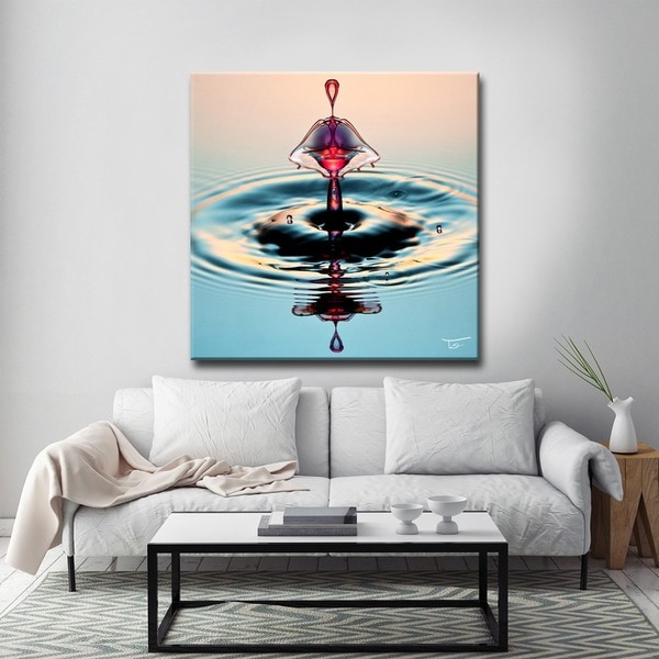 Ready2HangArt 'Aqueous Trance XXVIII' by Tristan Scott Canvas Art