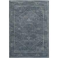 Safavieh Vintage Oriental Blue Distressed Silky Viscose Rug - 3' x 5'