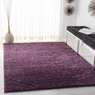 Safavieh Arizona Shag Southwestern Purple Rug (5' x 8')