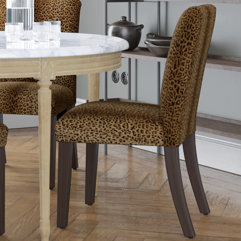 Skyline Furniture Dining Chair In Cheetah Earth