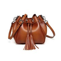 Vicenzo Leather Jolie Mini Bucket Handbag