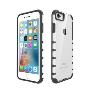 LAX Trendy Fitted Clear-back Shock-Absorption TPU Bumper Cover Apple iPhone 7 and 7 Plus Case