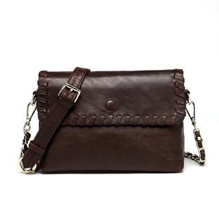Vicenzo Leather Ariana Leather Crossbody Handbag