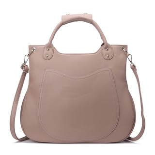 Pink Haley Esther Multicolor Faux-leather Tote Bag