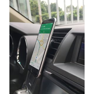 Lax Universal Magnetic Air Vent Mount for Smartphones and GPS Devices