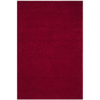 Safavieh Arizona Shag Southwestern Red Rug (9' x 12')