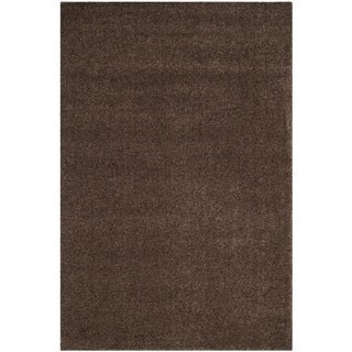 Safavieh Arizona Shag Southwestern Brown Rug (9' x 12')