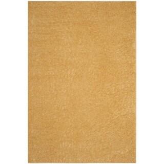 Safavieh Arizona Shag Southwestern Gold Rug (9' x 12')