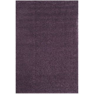 Safavieh Arizona Shag Southwestern Purple Rug (7' x 10')