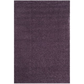 Safavieh Arizona Shag Southwestern Purple Rug (8' x 10')