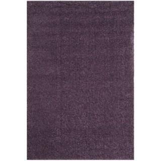 Safavieh Arizona Shag Southwestern Purple Rug (9' x 12')