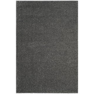 Safavieh Arizona Shag Southwestern Dark Grey Rug (7' x 10')