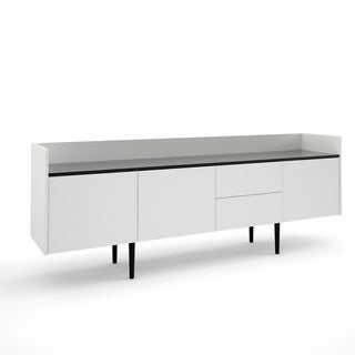 Unit Multicolor Wood 2-drawer and 3-door Sideboard