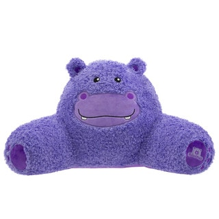 Bed Rest Hippo Throw Pillow