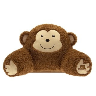 Bed Rest Monkey Throw Pillow