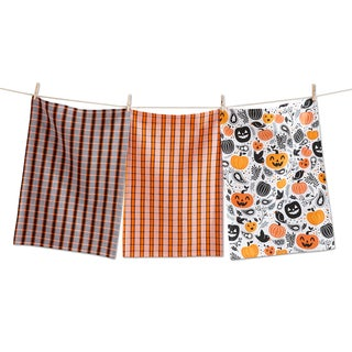 TAG Halloween Toss Dishtowel Set Of 3