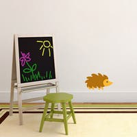 Sweetums 'Woodland Forest Hedgehog' Printed Wall Decal