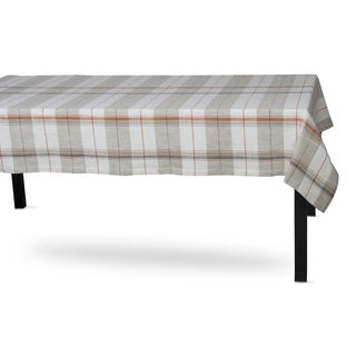 TAG Sienna Plaid Tablecloth