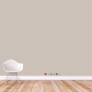 Sweetums 'Woodland Forest Mushrooms' Printed Wall Decal