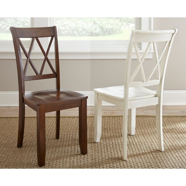 Peachy Shop Aspen Double X Back Dining Chair Set Of 2 By Greyson Ibusinesslaw Wood Chair Design Ideas Ibusinesslaworg