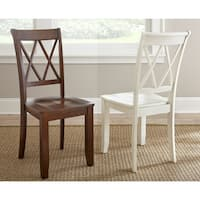 Greyson Living Aspen Double X-back Dining Chair – Set of 2