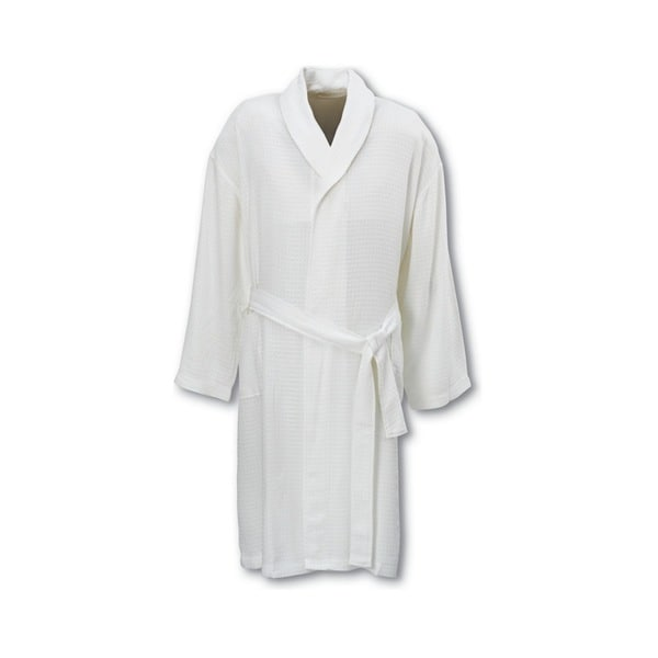Deluxe Comfort Rayon from Bamboo Robe, White