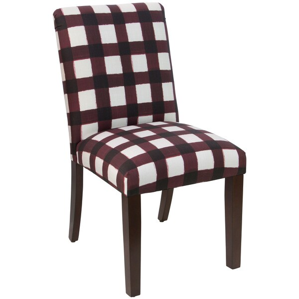Skyline Furniture Buffalo Square Holiday Red Oga Dining Chair