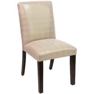 Skyline Furniture Gold Polyester and Cotton Upholstered Dining Chair