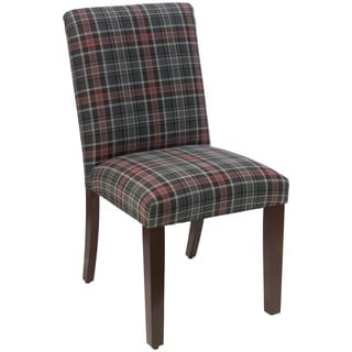 Skyline Furniture Neo Plaid Black Dining Chair