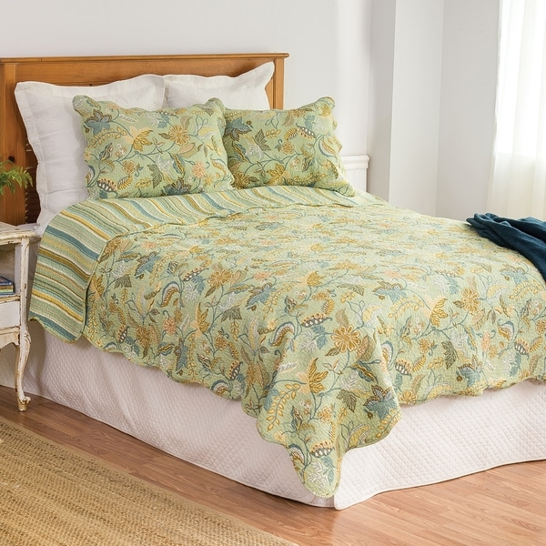 Henley Spa Quilt Set