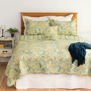 Henley Spa 3-piece Cotton Quilt Set