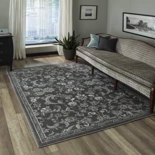 "Machine-Made Regent Arabella Polypropylene with Polyester Rug (7'10"" x 9'10"")"