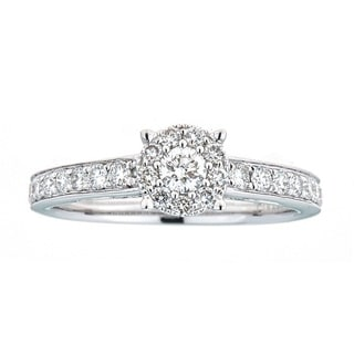 Anika and August 18k White Gold 3/4ct TDW Diamond Ring (G-H, SI1-SI2)