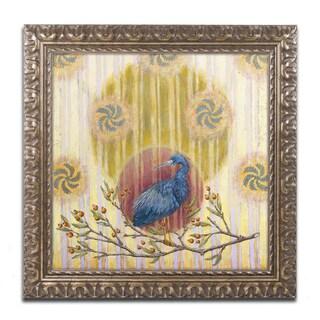 Rachel Paxton 'Shadbush Hollow Heron' Ornate Framed Art